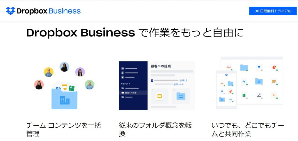 2.Dropbox business